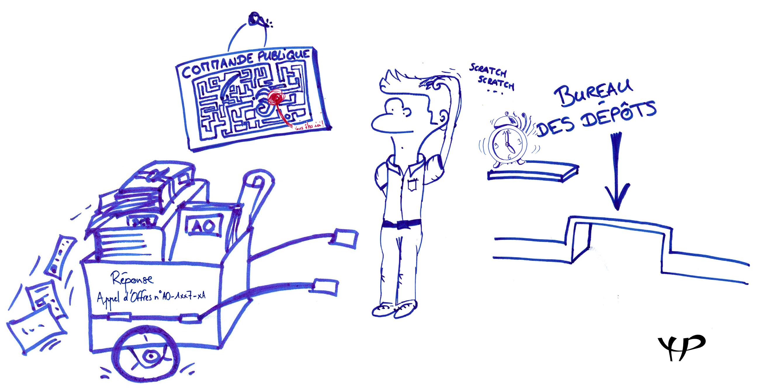 caricature public complique