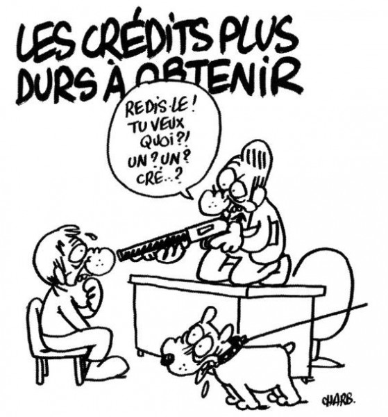 caricature_charlie hebdo_crise_credit_immobilier