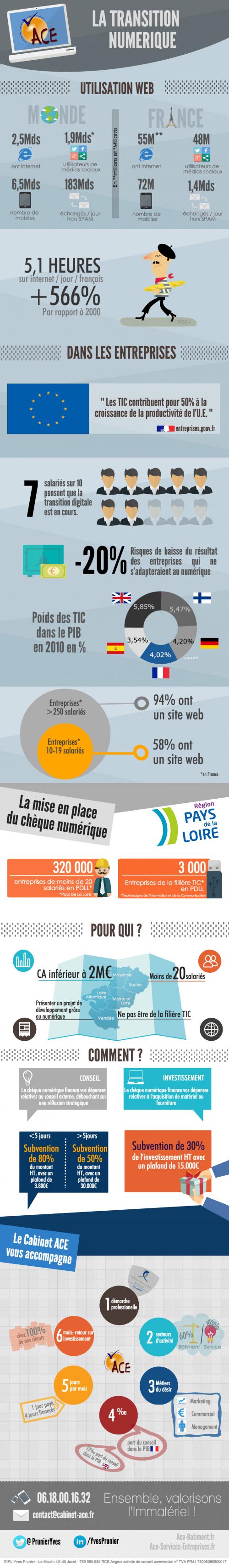Infographie Transition Numérique