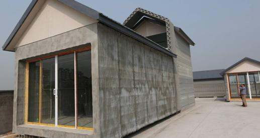 Une des 10 villas de 200M2 livrée par Winsun