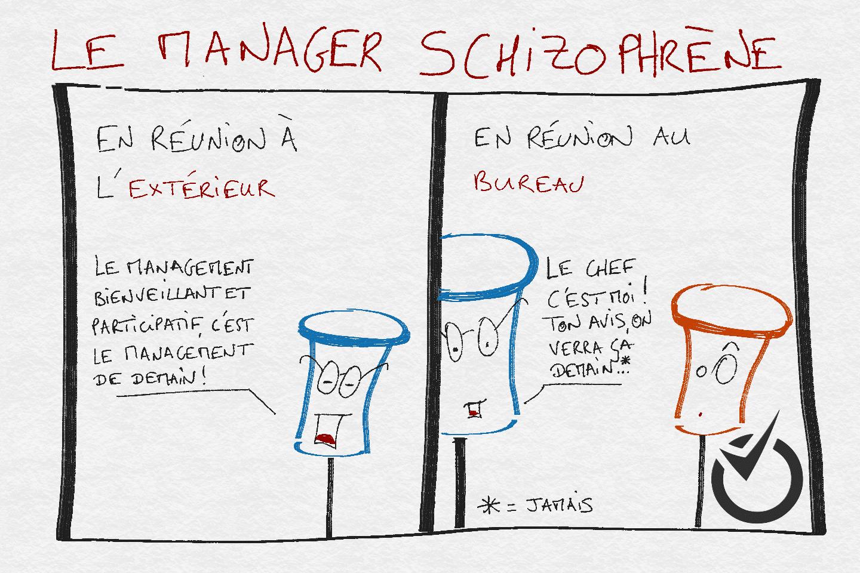conseil sapik manager schizophrène