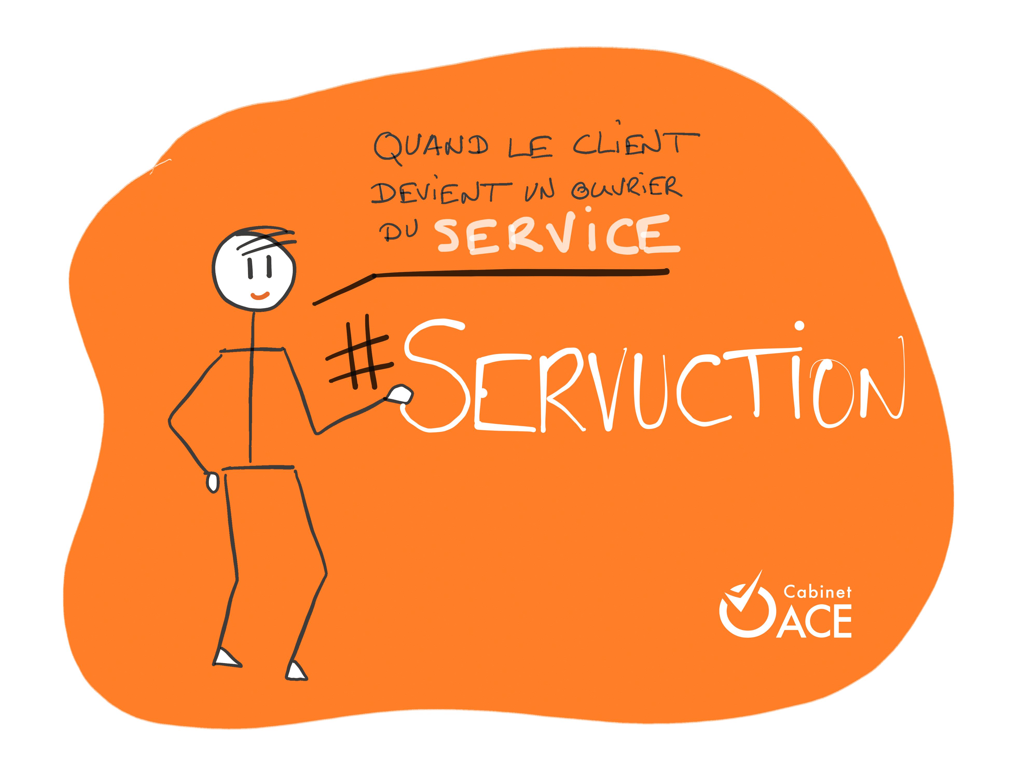 servuction management du client ouvrier du service